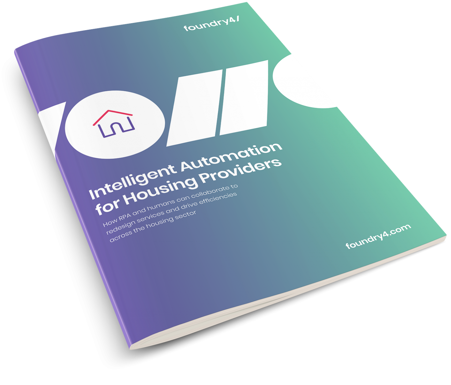 Intelligent Automation for Housing Providers Report Front Cover