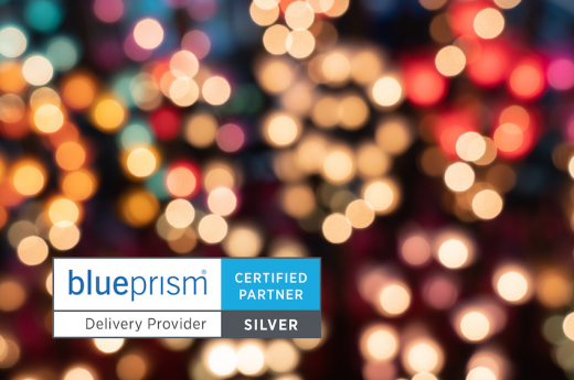 Foundry4 achieves Blue Prism Silver Delivery Partner